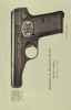 Autom. Browning Pistole Modell 1910, neues Mod., Kal. 7,65 mm u. 9 mm